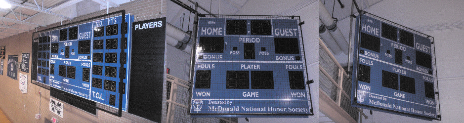 Protective Scoreboard Screens