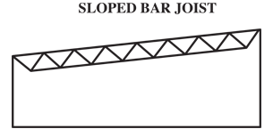 Sloped-bar-joist