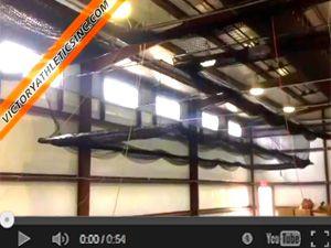 Indoor Retractable Batting Cage