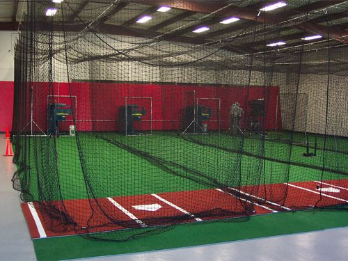 Walk Draw Retractable Batting Cage