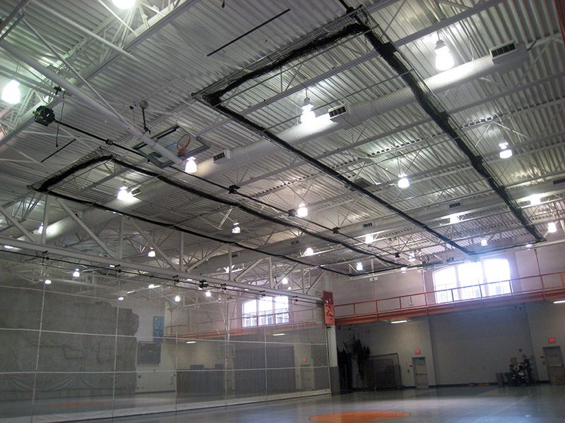 Retractable Batting Cage With Drive Tube