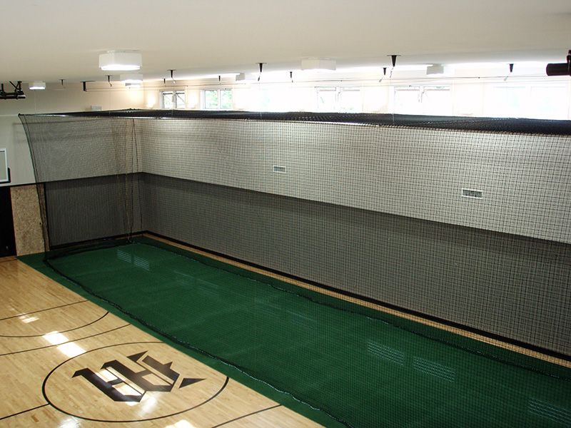 Standard Retractable Batting Cage with Return Pull System