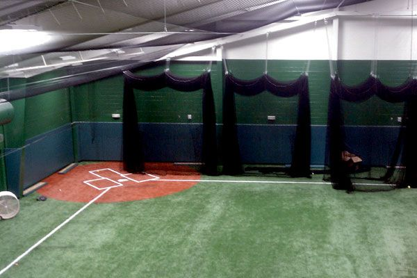 walk draw batting cages