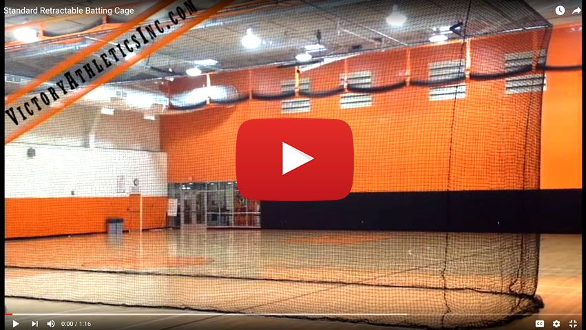 Standard Retractable Batting Cage